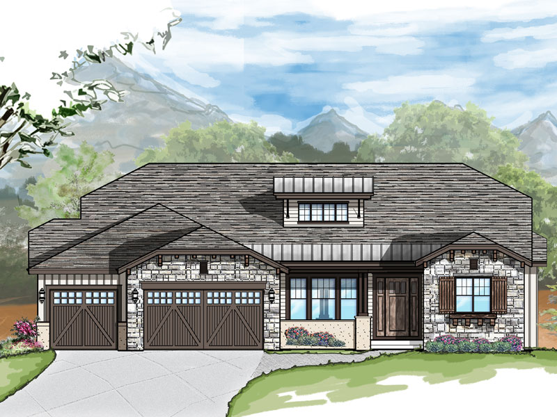 durango ranch model plan by sopris homes