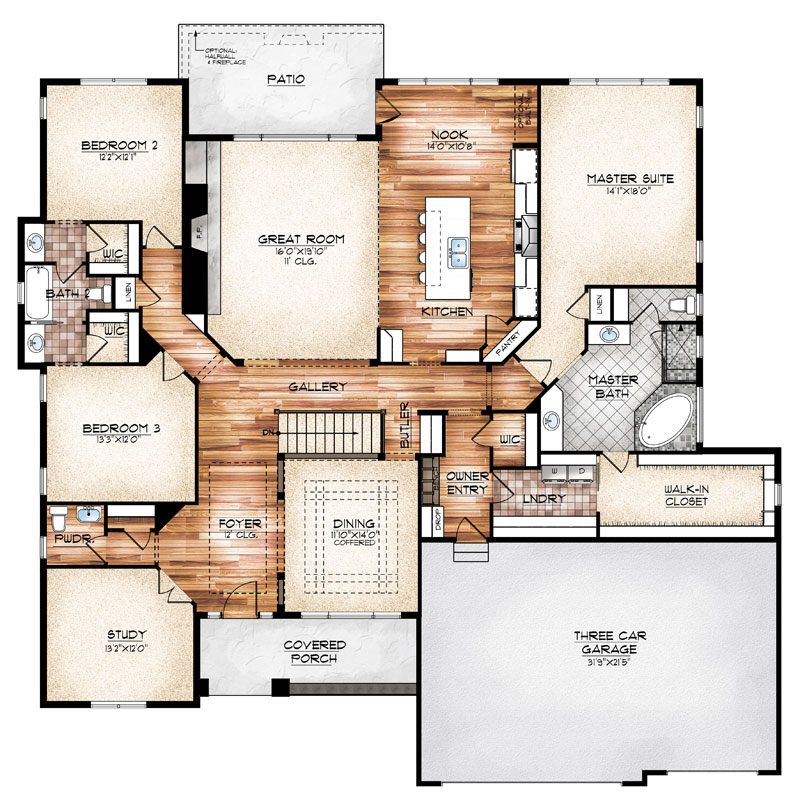 Durango-Main-Floor-Plan