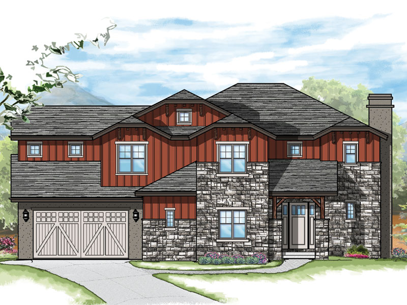 hayden model plan by sopris homes