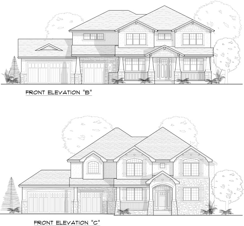 westcliffe model elevation options