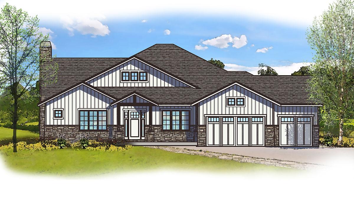 culpepper model elevation by sopris homes