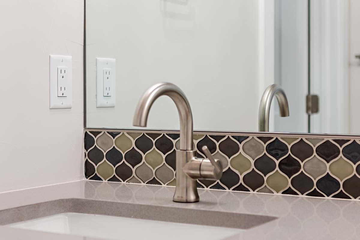 Faucet and Backsplash Details