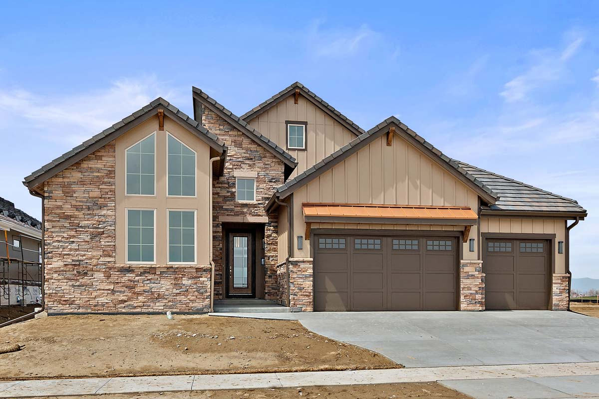 masonville model by sopris homes in boulder, colorado
