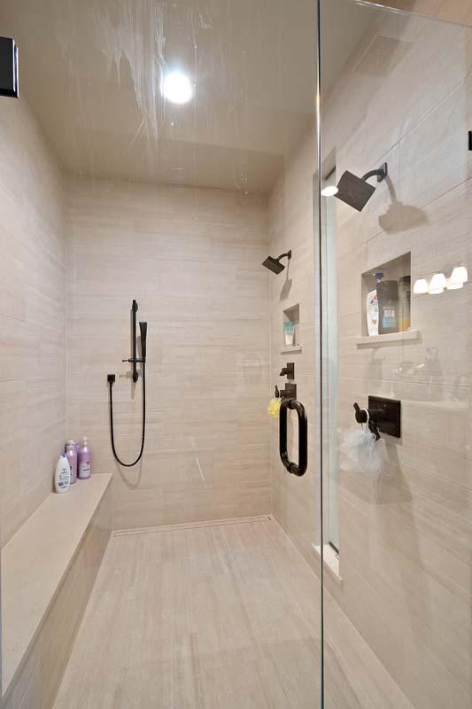 Master Shower Sopris Homes Boulder Colorado